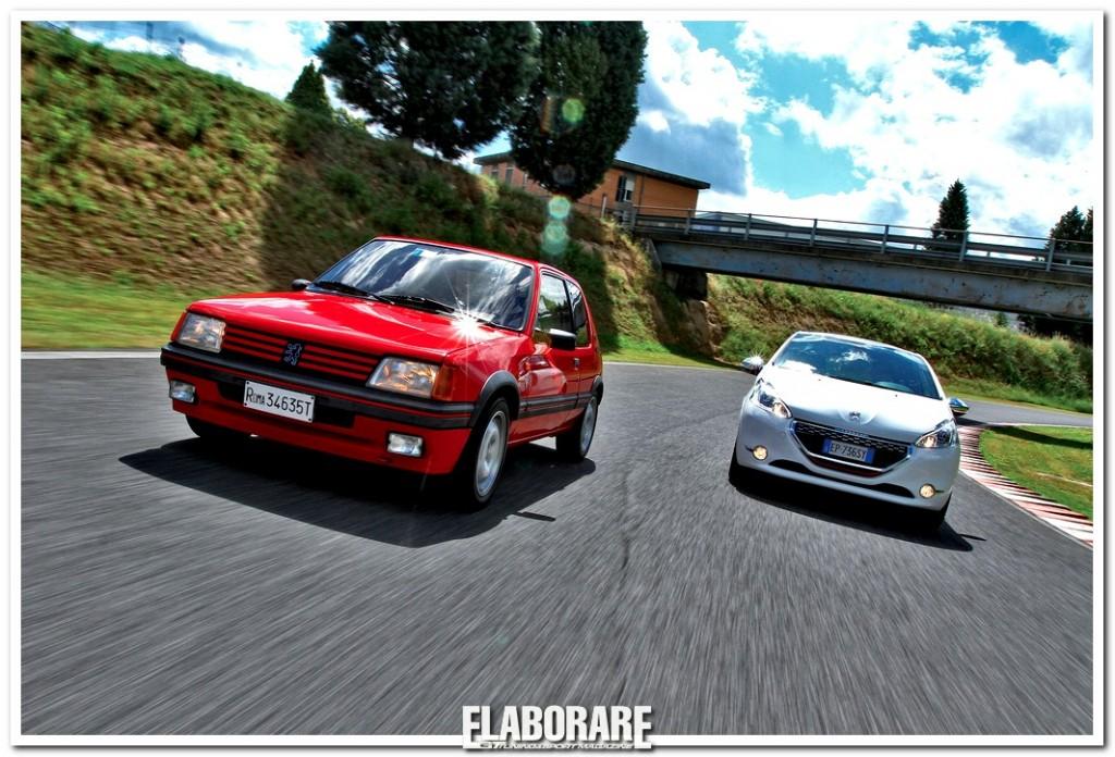 Peugeot-205-GTI-contro-208-GTI
