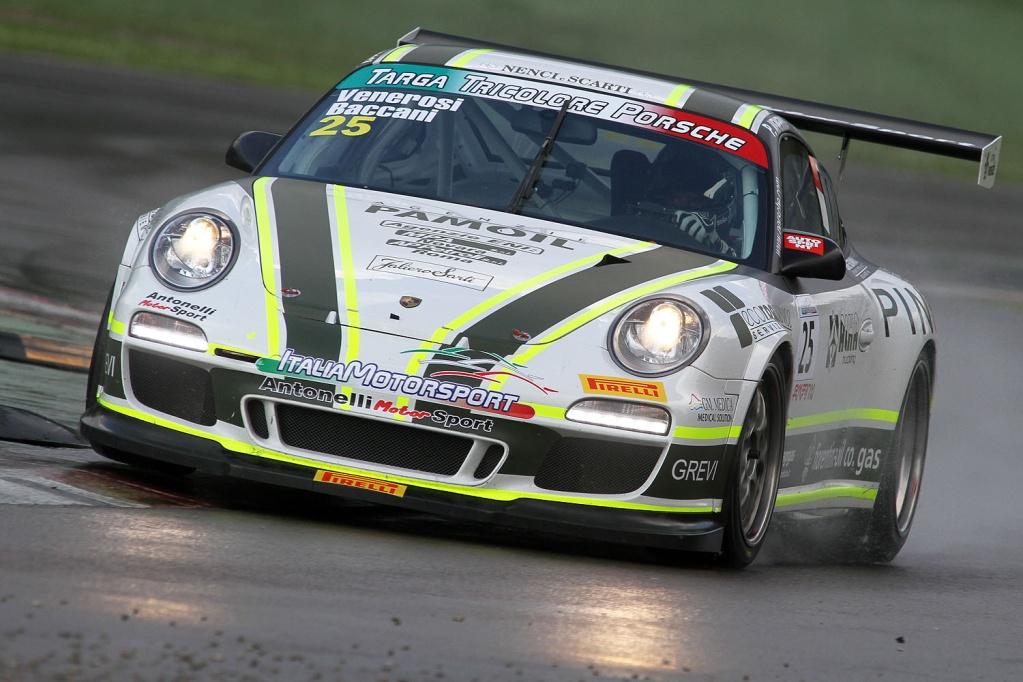 Porsche GT3 Cup_bagnato_Imola_BACCANI-VENEROSI_01
