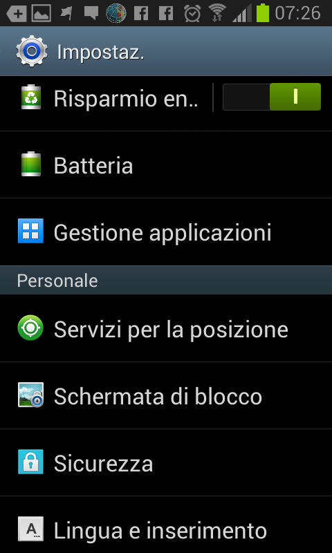 samsung galaxy si blocca screen shoot (3)