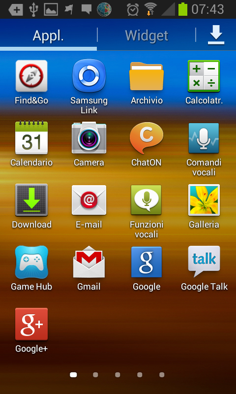 samsung galaxy si blocca screen shoot7