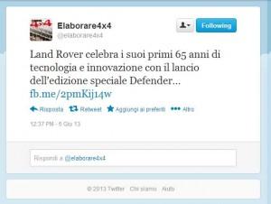 tweet_elaborare4x4