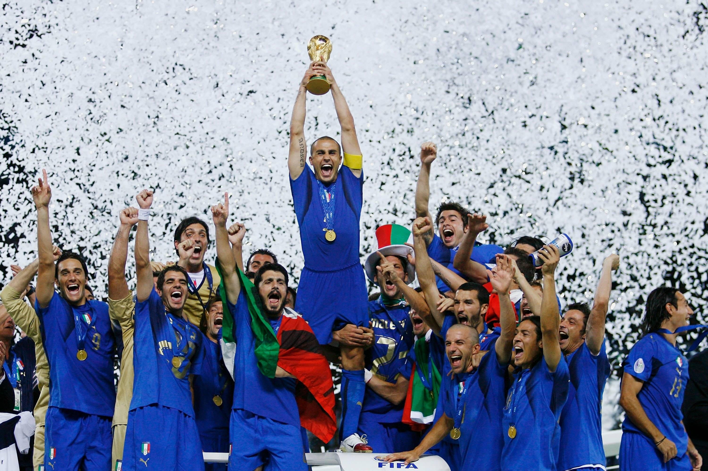 la nazionale di calcio italiana vince il titolo mondiale nel