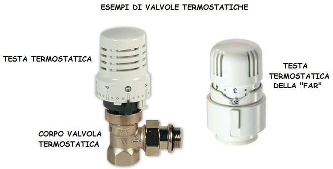Montaggio valvole termosifoni